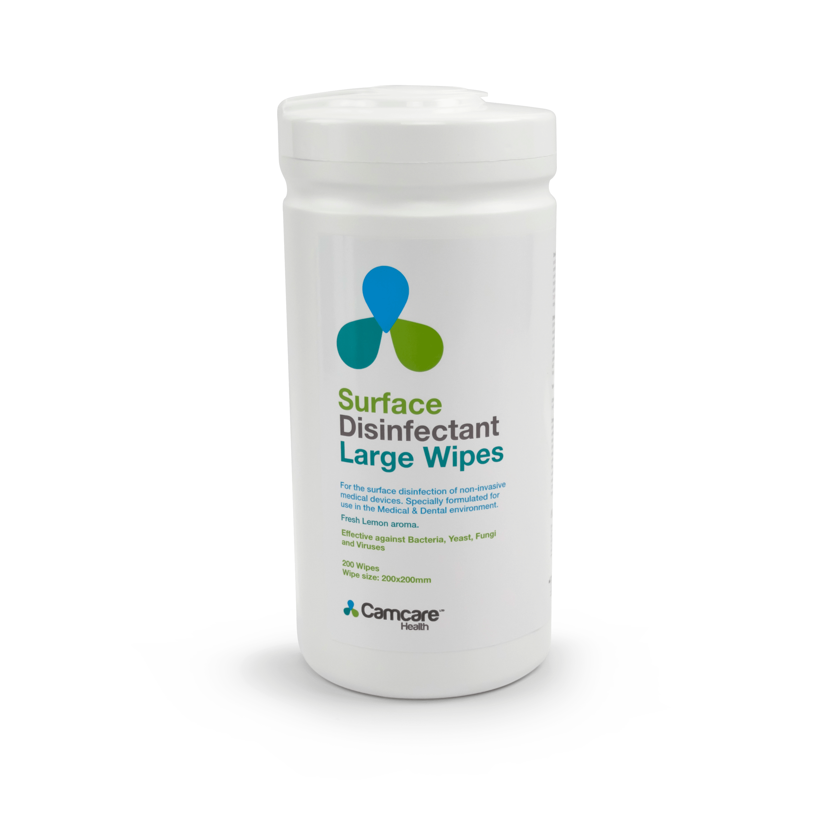 Alcohol Surface Disinfectant Wipes Tub of 200 Wipes