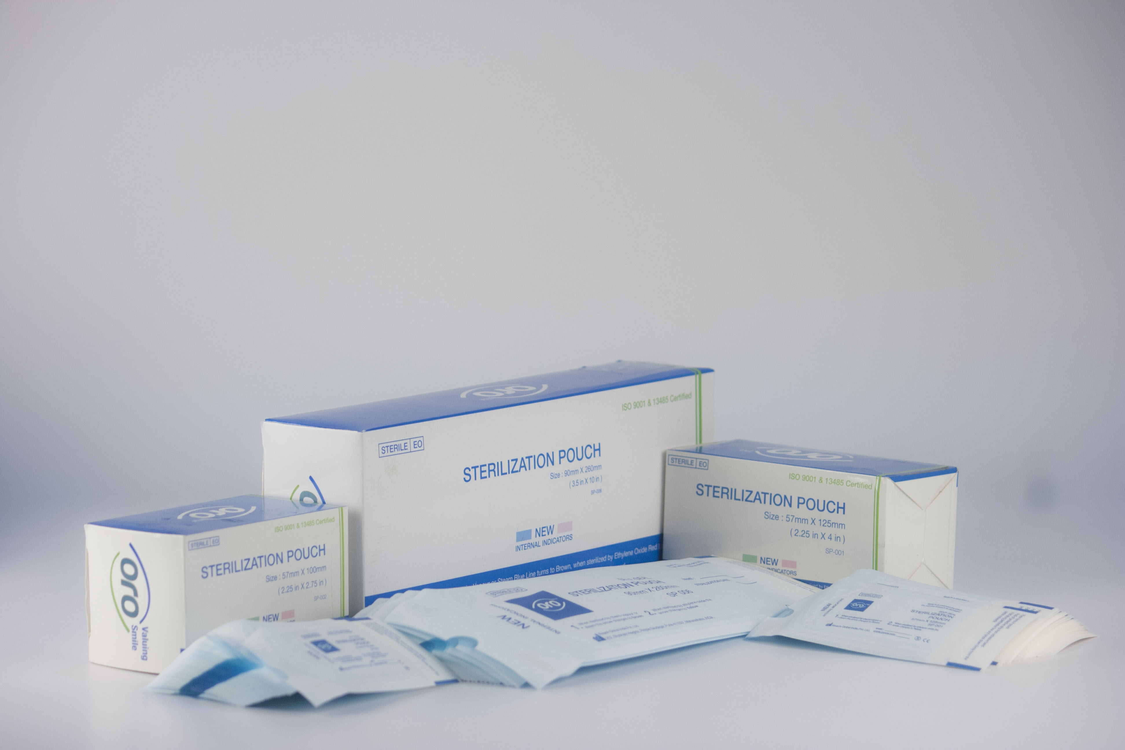 Sterilization Pouches Box of 200